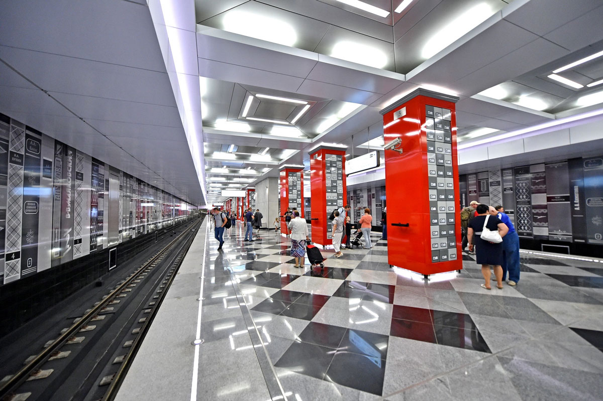 Станция метро «Рассказовка»