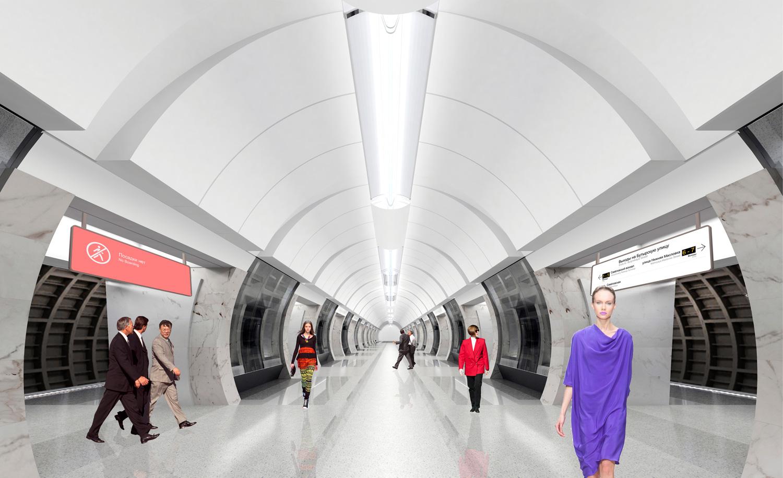 Станция метро «Савёловская» Большой кольцевой линии