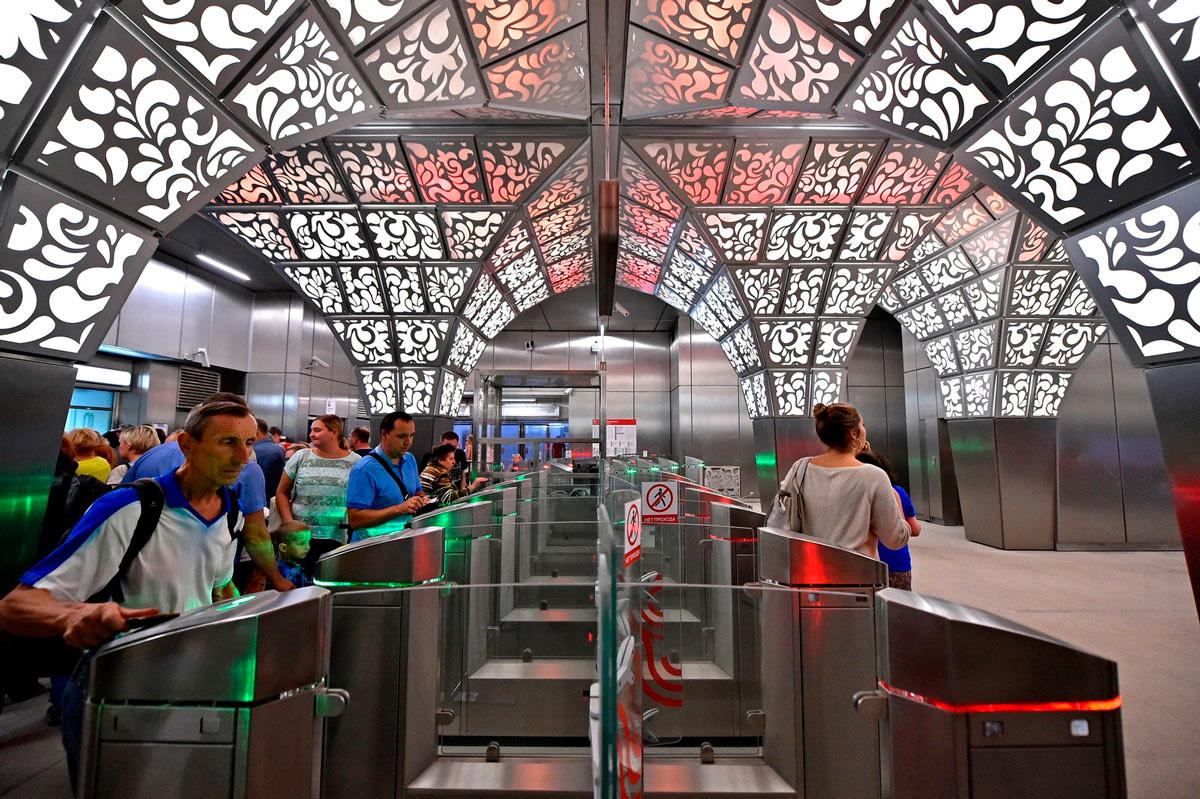 Станция метро «Новопеределкино»