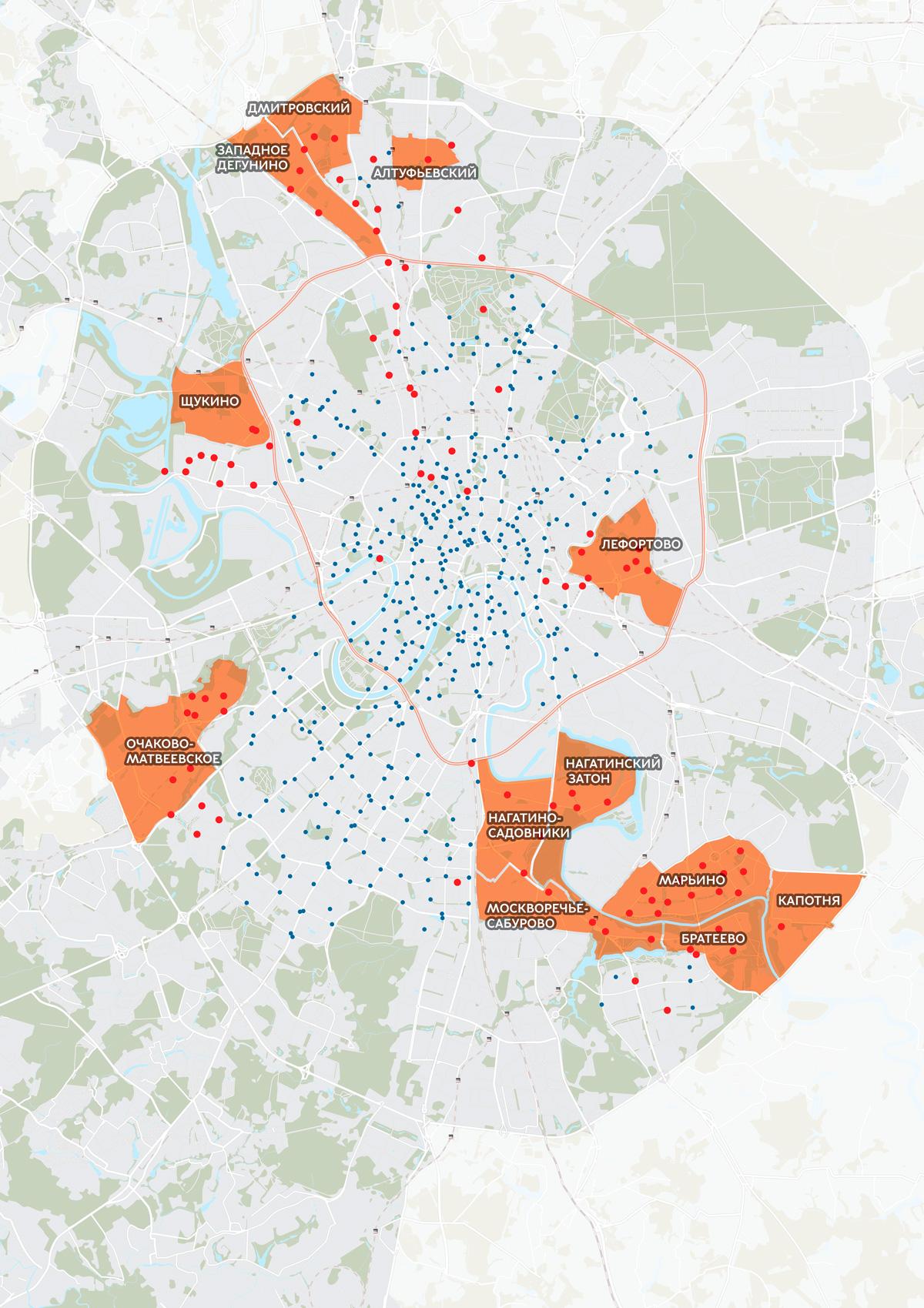 Расширение зоны покрытия станций велопроката в 2019 г.